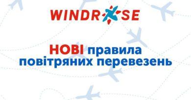 Рекомендовані норми перевезення ручної поклажі на рейсах  WINDROSE